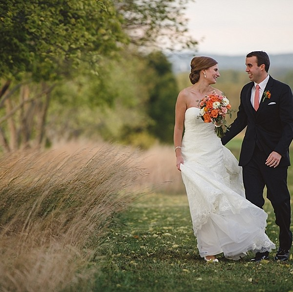 Dana & Kevin | An Autumn Wedding in Lawrenceville & the Neshanic Valley